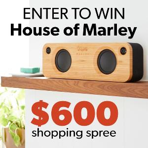 House of Marley Shopping Spree