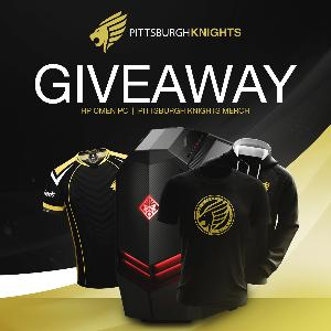 HP OMEN PC & Pittsburgh Knights Merch Giveaway