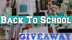 HUGE Haul - Back to school Items giveaway!