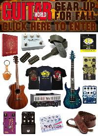 Huge Prize Package from Guitar World