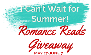 I Can't Wait For Summer! Romance Reads Giveaway.