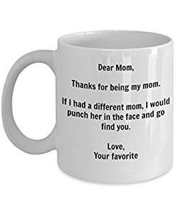 I'd Punch Another Mom In The Face Coffee Mug Giveaway""