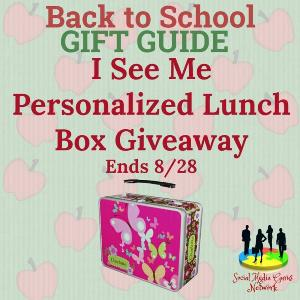 I See Me Personalized Lunch Box Giveaway