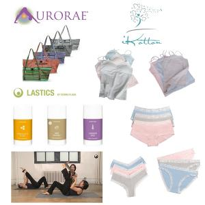 iKotton, Aurorae Yoga, and Lastics Giveaway Package