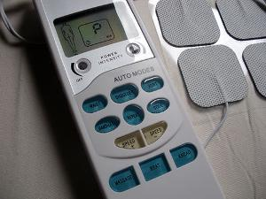 Image of the Tens Electronic Massage Unit