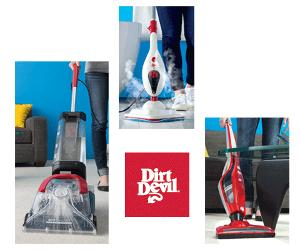 in a Dirt Devil home cleaning kit!!