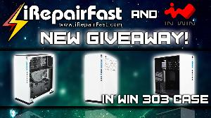 In Win 303 Case Giveaway with iRepairFast