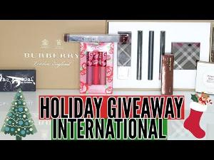 International Holiday Giveaway