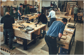 INTRODUCTION TO HAND TOOLS Course at The Unplugged Woodshop