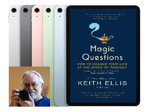 iPad Air/MAGIC QUESTIONS giveaway from KeithEllis.com