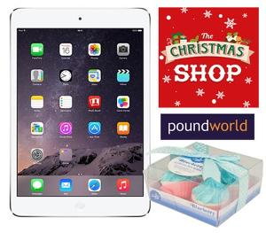 iPad Mini 2 with Poundworld Giveaway!