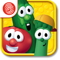 iPad Mini with the VeggieTales Silly Songs