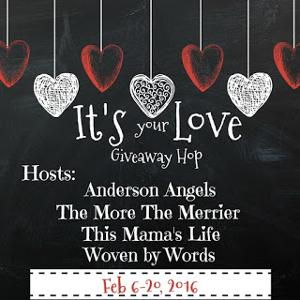 It's Your Love giveaway hop blog button