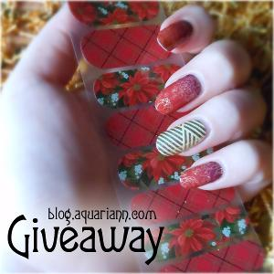 Jamberry Half Sheet - Nail Wraps Giveaway!