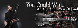 JamPlay Sweepstakes | Andy James Signature AJ-1 LTD guitar