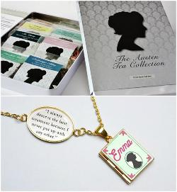 Jane Austen Tea Collection and Emma Locket Necklace Giveaway