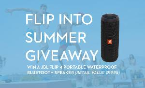 JBL Flip4 Portable Waterproof Bluetooth Speaker ""