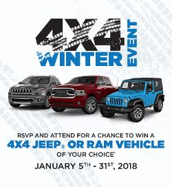 Jeep Ram winter event