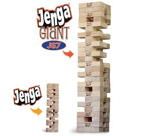 JENGA® GIANT™ JS7 GAME GIVEAWAY!