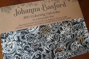 johanna basford 2019 day to day coloring calendar review giveaway