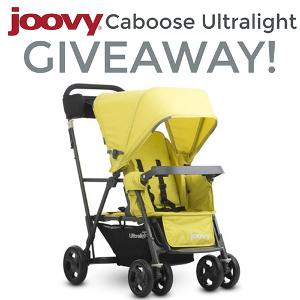 Joovy Caboose Ultralight Stroller Giveaway