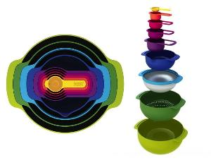 Joseph Joseph 9-PC Nesting Mixing Bowl Set Giveaway