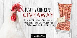 Just Us Chickens Barnett Home Decor Giveaway