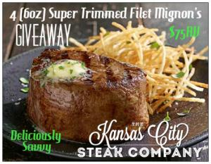 Kansas City Steaks Giveaway