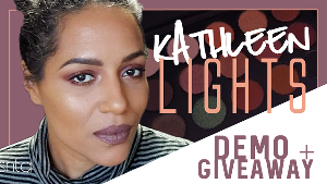 Kathleen Lights Morphe Brushes Palette Giveaway!