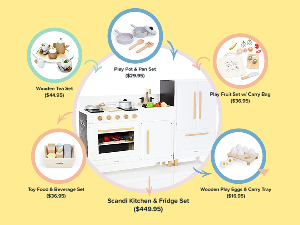 KIDS KITCHEN SET $599.95