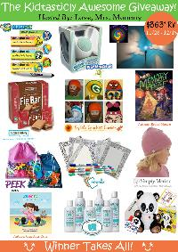 Kidtastically Awesome $363 RV Prize Pack Giveaway
