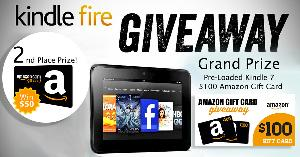 Kindle 7 + $100 amazon Gift Card