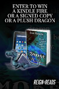 Kindle Fire, a Signed Paperback & a Plush Dragon