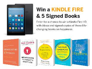 Kindle Fire and 5 Signed Books