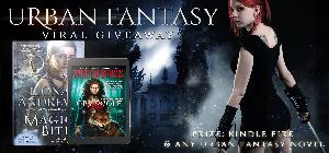 Kindle Fire and ANY #UrbanFantasy #UF Book You Want