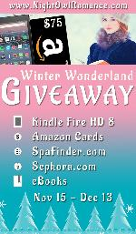 Kindle fire, Books & gift cards to be won!