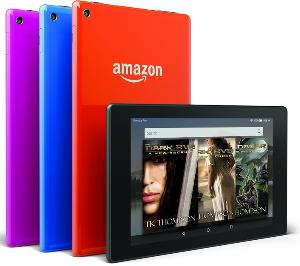 Kindle Fire Tablet + All the Dark Eve Books ($90)