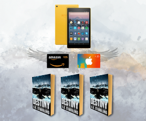 Kindle, gift card, book