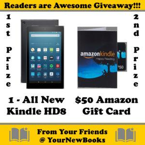 kindle hd8, gift card