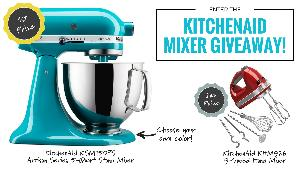 KitchenAid 5-Quart Stand Mixer & Hand Mixer
