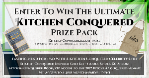 KitchenConquered.com Ultimate Prize Pack Giveaway