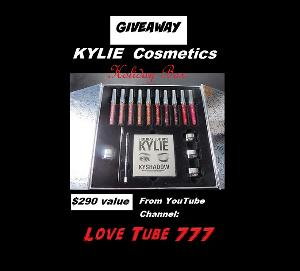 Kylie Cosmetics Limited Edition Collectors Box ($290)