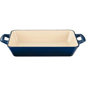 La Cuisine Cast Iron Enameled Roasting Pan ($95)