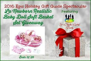 La Newborn Realistic Baby Doll Set Giveaway