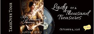 Lady of a Thousand Treasures Takeover Tour & Giveaway!