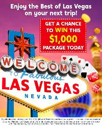 Las Vegas $1000 package