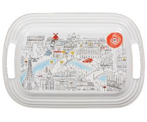 Le Creuset Paris Map Platter ($65)