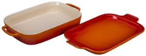 Le Creuset Rectangular Dish with Platter Lid (ARV $99.95)