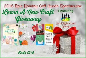 Learn A New Craft Giveaway