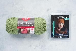 Learn to Loop Crochet Kit and Yarn Giveaway